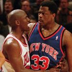 Patrick Ewing states that Michael Jordan reminds him that he has never beaten him often