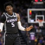 "De'Aaron Fox on Knicks lottery: ""I know they sick # 8"""