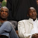 Michael Jordan getting into the Knicks feud was no good with Charles Oakley