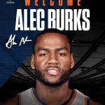 OFFICIAL: Knicks Sign Alec Burks