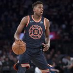 Knicks, Frank Ntilikina returns to train with the team