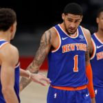 Knicks, overtaking on OKC in the second quarter