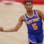 The Knicks defeat OKC after a less than thrilling first quarter