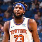 Knicks, Mitchell Robinson  is questionable for tonight's game against the Sixers