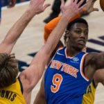 "Knicks, RJ Barrett: ""We had a good first half overall and they came out even more aggressive in the second"""