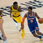 Knicks, RJ Barrett is half satisfied after the game with Indiana