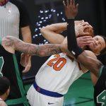 The New York Knicks humiliate the Celtics 105-75