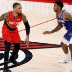Knicks defeated by Portland dragged by Lillard