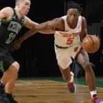 Knicks, landslide victory over the Celtics