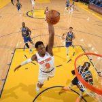 Knicks, defeated Golden State Warriors 119-104