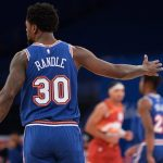 Knicks, Julius Randle prepares for the match against the Blazers