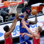 The Knicks win again against the Bulls