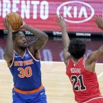 Knicks, Julius Randle drags New York to victory over the Bulls