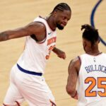Fourth win in a row for the New York Knicks