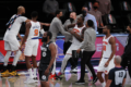 Julius Randle is on a rampage against the referee after the Knicks defeat to the Nets