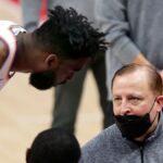 Knicks, Norvel Pelle immediately showed all his toughness